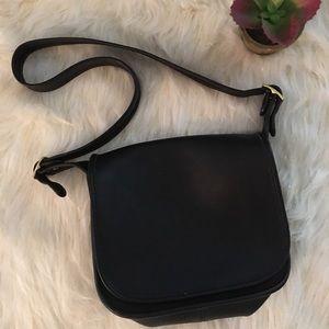Vintage Coach Leather Flap Legacy Shoulder Bag